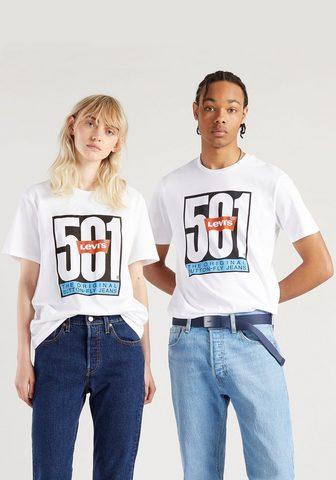 Levi's ® Marškinėliai »501 DAY TEE - Unisex« ...