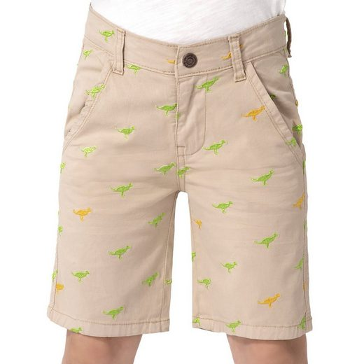 MyToys-COLLECTION Shorts »Chinoshorts mit Stickerei für Jungen von ZAB kids«