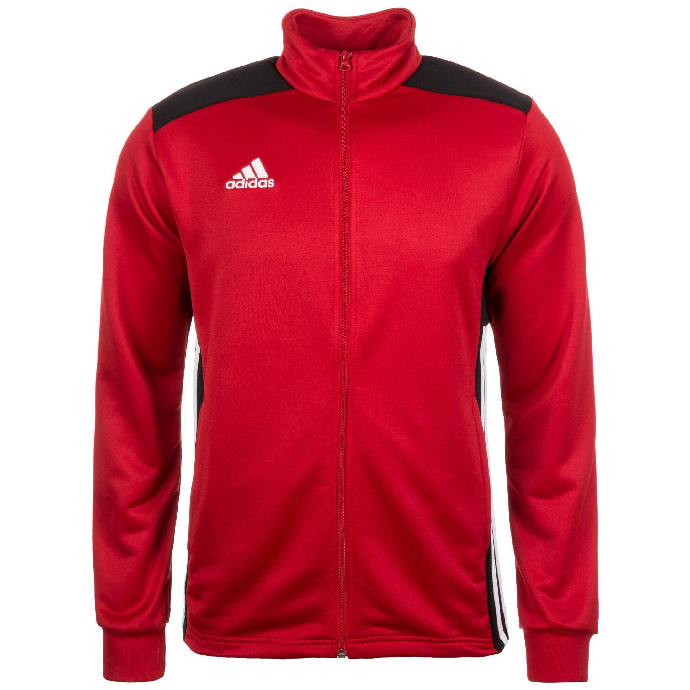 adidas Trainingsjacke Regista 18 rotschwarz Fussball Shop