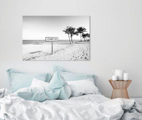 queence Acrylglasbild »Surf's up Strand«