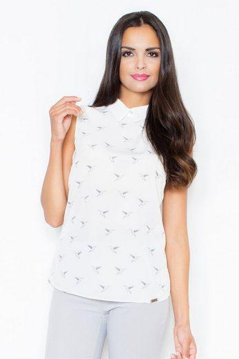 FIGL Bluse mit tollem Print-Muster
