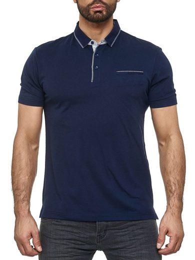 Max Men Poloshirt »3087« Herren Poloshirt mit Kragen Basic Einfarbig