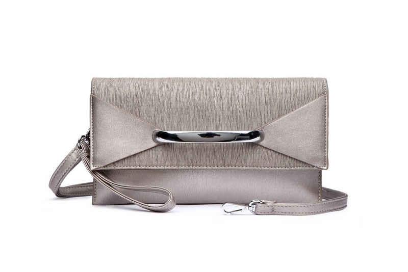 COLLEZIONE ALESSANDRO Clutch »Kennya«, elegantes Design