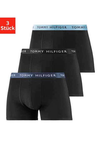 Tommy Hilfiger Boxer (3 Stück) mit kontrast Bund