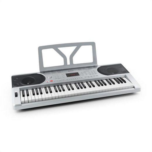 Schubert Keyboard »Etude 300 Keyboard 61 Tasten 300 Stimmen 300 Rhythmen 50 Demos silber«
