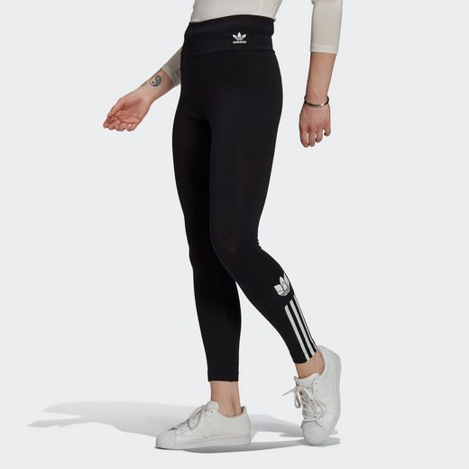 adidas Originals Leggings »ADICOLOR 3D TREFOIL HIGH-WAISTED«