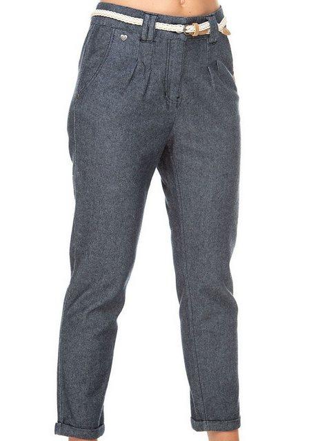 Hosen - Ragwear 7 8 Hose »WOLFKY« (2 tlg., mit abnehmbarem Gürtel) in Denim Optik › blau  - Onlineshop OTTO