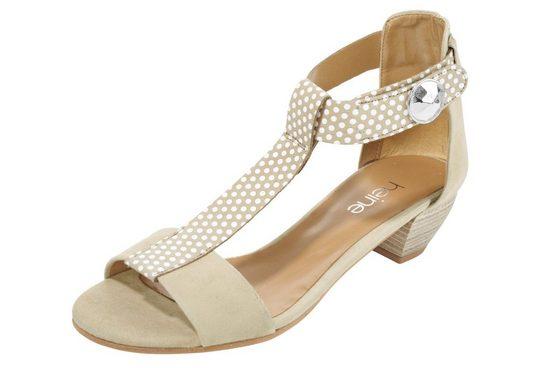 Sandalette mit Punkten