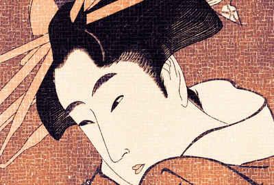 Architects Paper Fototapete »Atelier 47 Samurai 2«, glatt, abstrakt, (4 St)