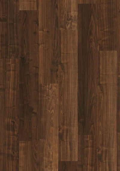 PARADOR Laminat »Basic 200 - Walnuss Holzstruktur«, Packung, ohne Fuge, 1285 x 194 mm, Stärke: 7 mm