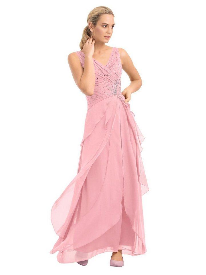 Festtagsmode - PATRIZIA DINI by Heine Abendkleid »Abendkleid« › rosa  - Onlineshop OTTO