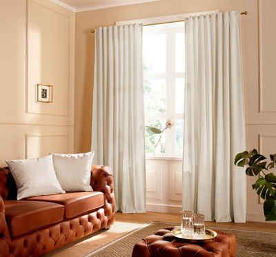 Vorhang »SAMT«, Guido Maria Kretschmer Home&Living, Multifunktionsband (1 Stück), blickdicht, monochrom, Samt Optik, basic