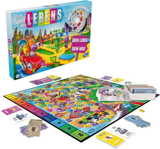 Hasbro Spiel, Brettspiel »Das Spiel des Lebens«