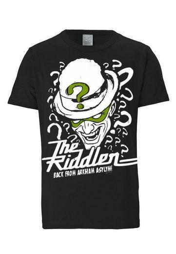 LOGOSHIRT T-Shirt mit coolem Front-Print »The Riddler - DC Batman - Arkham«