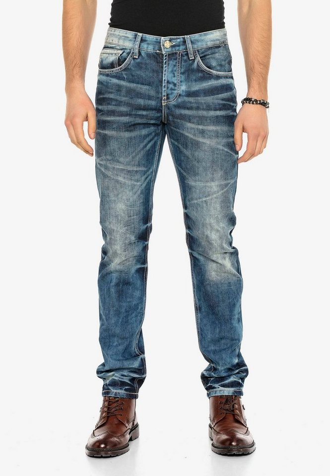 cipo & baxx -  Bequeme Jeans »Justice« im Regular Fit