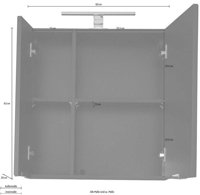 Spiegel - trendteam Spiegelschrank »Concept One« optionale Belechtungsmöglichkeiten  - Onlineshop OTTO