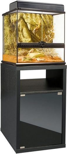 Exo Terra Terrarium, BxTxH: 45x45x115,5 cm, mit Unterschrank