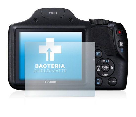 upscreen Schutzfolie »für Canon PowerShot SX530 HS«, Folie Schutzfolie matt entspiegelt antibakteriell