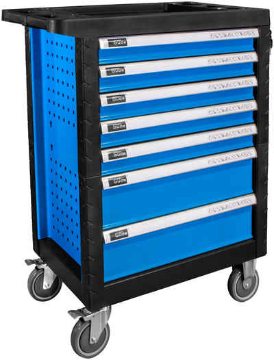 Güde Werkzeugwagen »PREMIUM GWSP 07«, max. Traglast:400 kg, (165-tlg), abschließbar