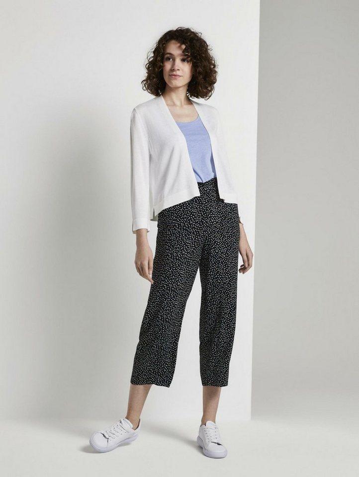 tom tailor -  Culotte »Culotte Hose mit elastischem Bund«