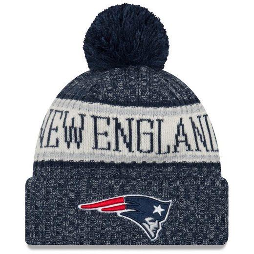 New Era Fleecemütze »NFL Sideline Bobble New England Patriots«