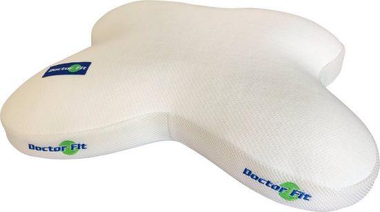 MPS TEXTILES Nackenkissen »Butterflywing Pillow Green line«, komfortables elastisches Latex Kissen