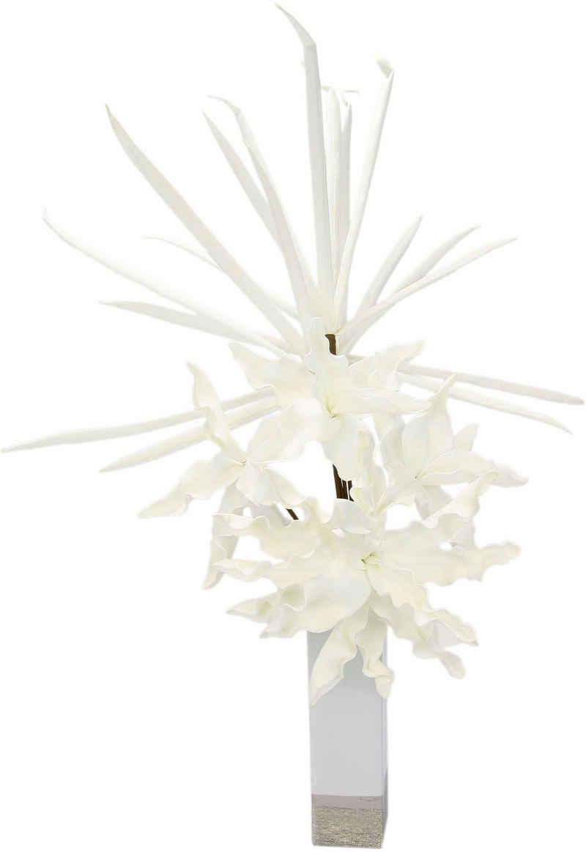 Kunstblume »Soft-Blumenarrangement«, I.GE.A., Höhe 90 cm, Keramikvase