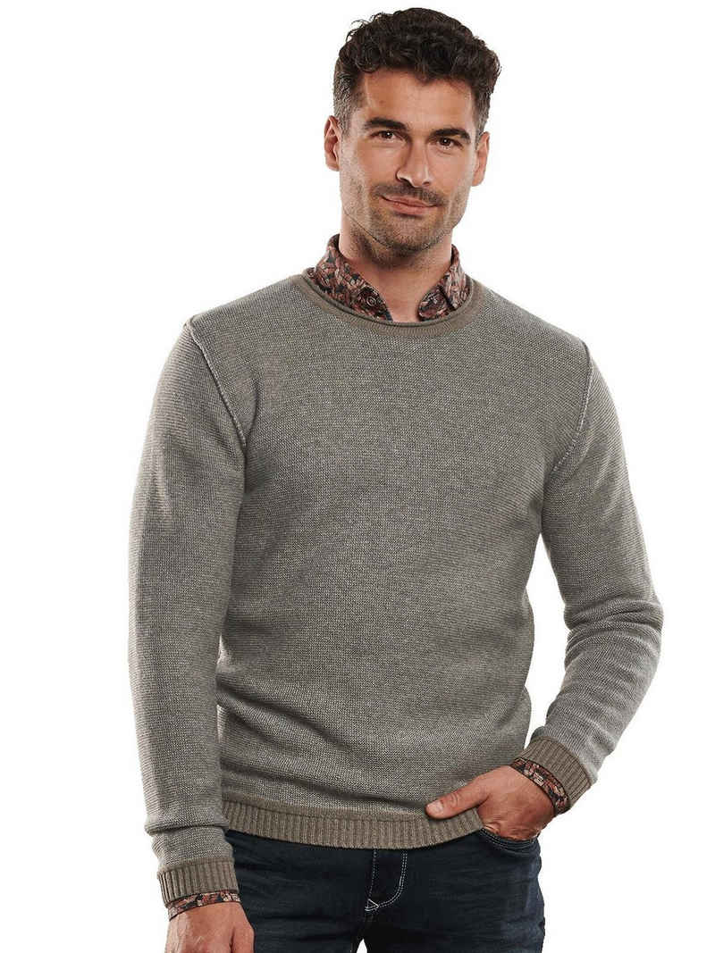 Engbers Rundhalspullover »Pullover mit Kaschmiranteil«