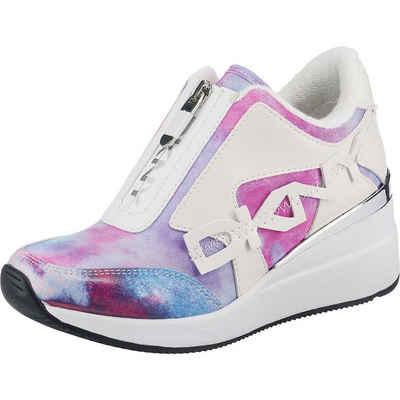 DKNY »Parlan - Zip Up Wedge Sneaker 40mm Wedge-Sneakers« Wedgesneaker