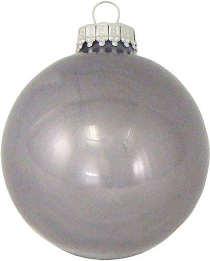 Krebs Glas Lauscha Weihnachtsbaumkugel »CBK80840« (8 Stück)