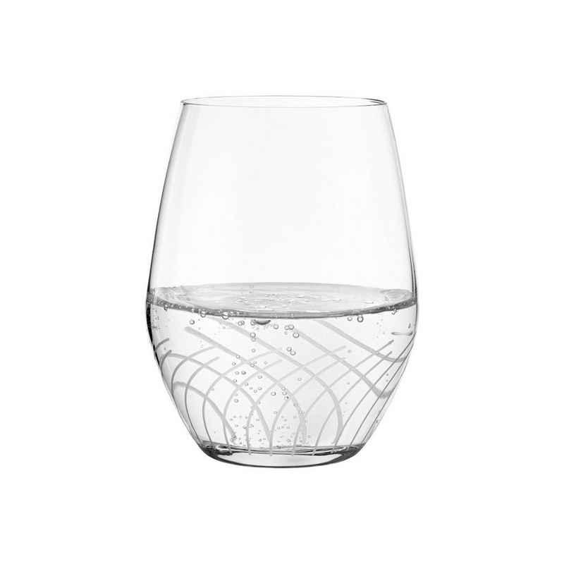 HOLMEGAARD Glas »2er-Set Wasserglas CABERNET LINES 25cl«, Glas