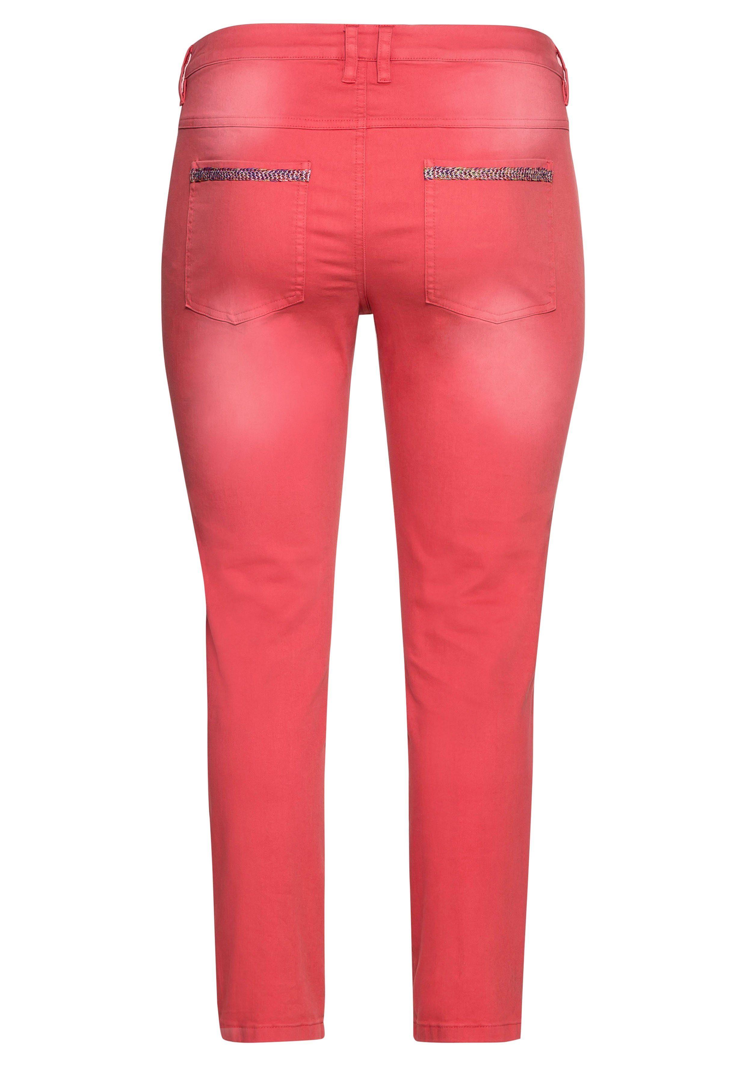 Sheego Stretch-Hose mit individueller Waschung