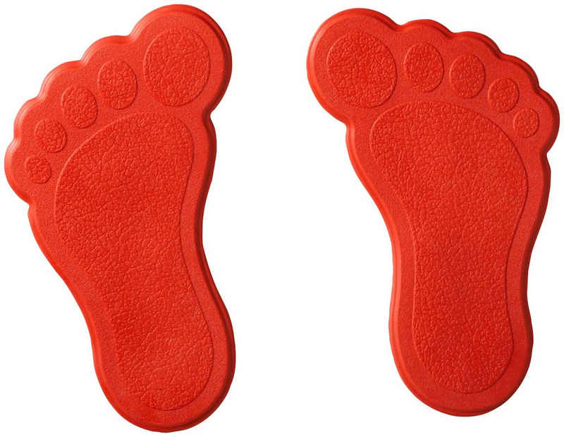 Ridder Antirutsch-Aufkleber »Füße«, B: 9 cm, L: 15 cm, Set, 6-tlg.