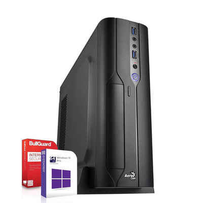 SYSTEMTREFF Mini Edition 91268 Mini-PC (AMD Ryzen 3 4300G AMD Ryzen 3 4300G, AMD Radeon RX Vega - 6 Core, 8 GB RAM, 512 GB SSD)
