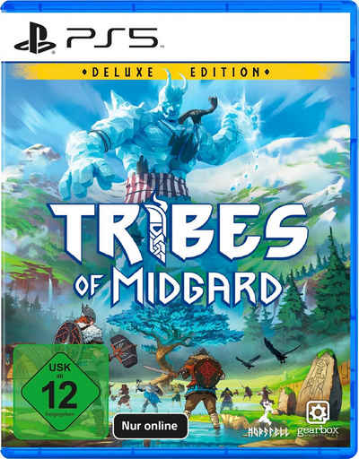Tribes of Midgard Deluxe Edition PlayStation 5, nur Online