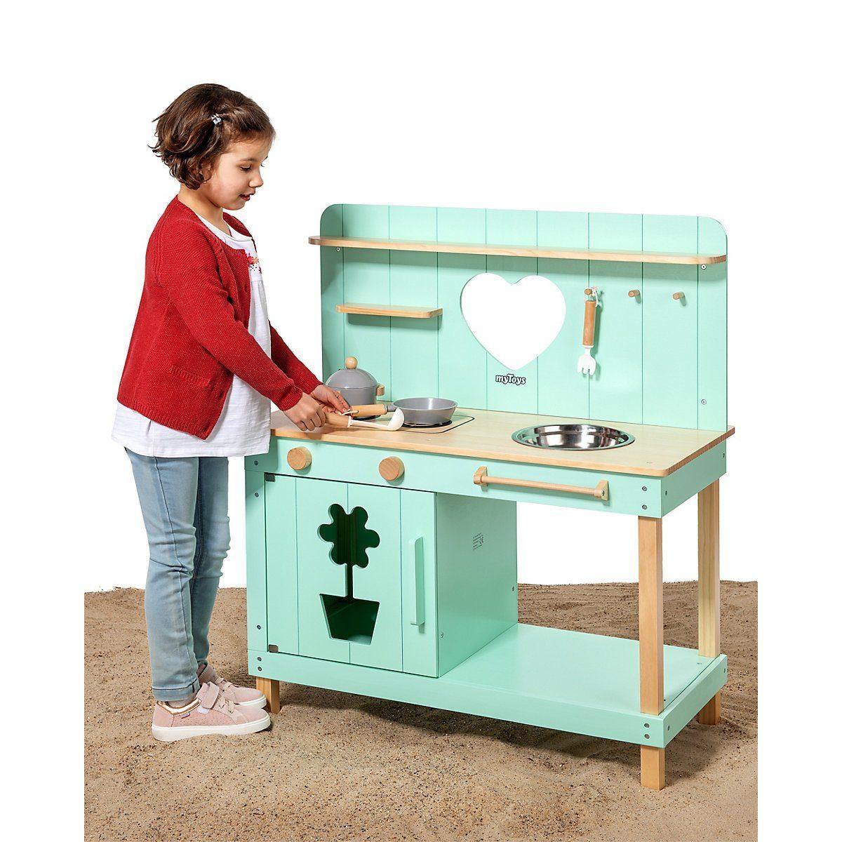 Spielküche MYTOYS MATSCHKÜCHE, In- und Outdoor Holz von MYTOYS - MYTOYS