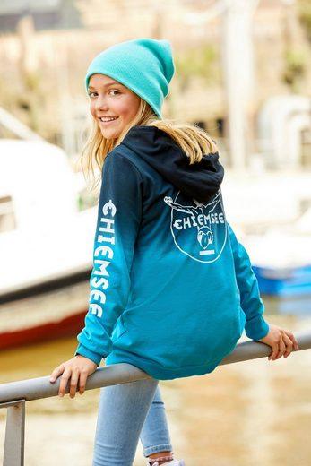 Chiemsee Kapuzensweatshirt mit schönem Farbverlauf