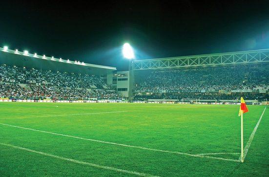 Consalnet Fototapete »Sport Fußballfeld«, glatt, Motiv