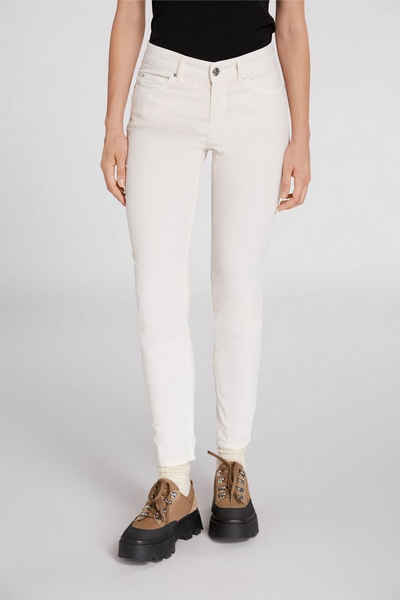 Oui Slim-fit-Jeans »Jeggings THE BAXTOR« ohne Details