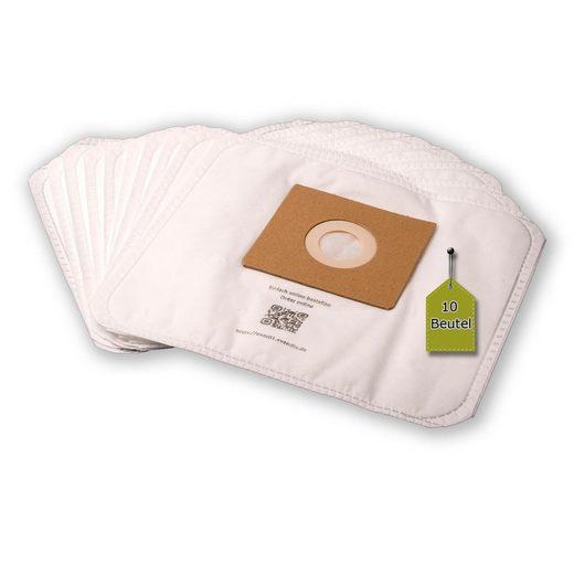 eVendix Staubsaugerbeutel Staubsaugerbeutel passend für Melissa 640 - 171, 10 Staubbeutel + 1 Mikro-Filter, kompatibel mit SWIRL Y05/Y45, passend für Melissa