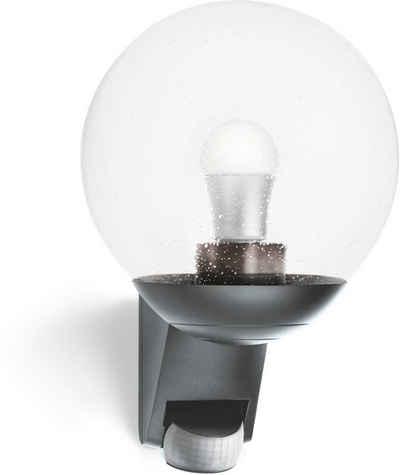 steinel Außen-Wandleuchte »L 585 S«, 180° Bewegungsmelder, mundgeblasenes Kristallglas, Zeit- und Dämmerungsschwelle einstellbar