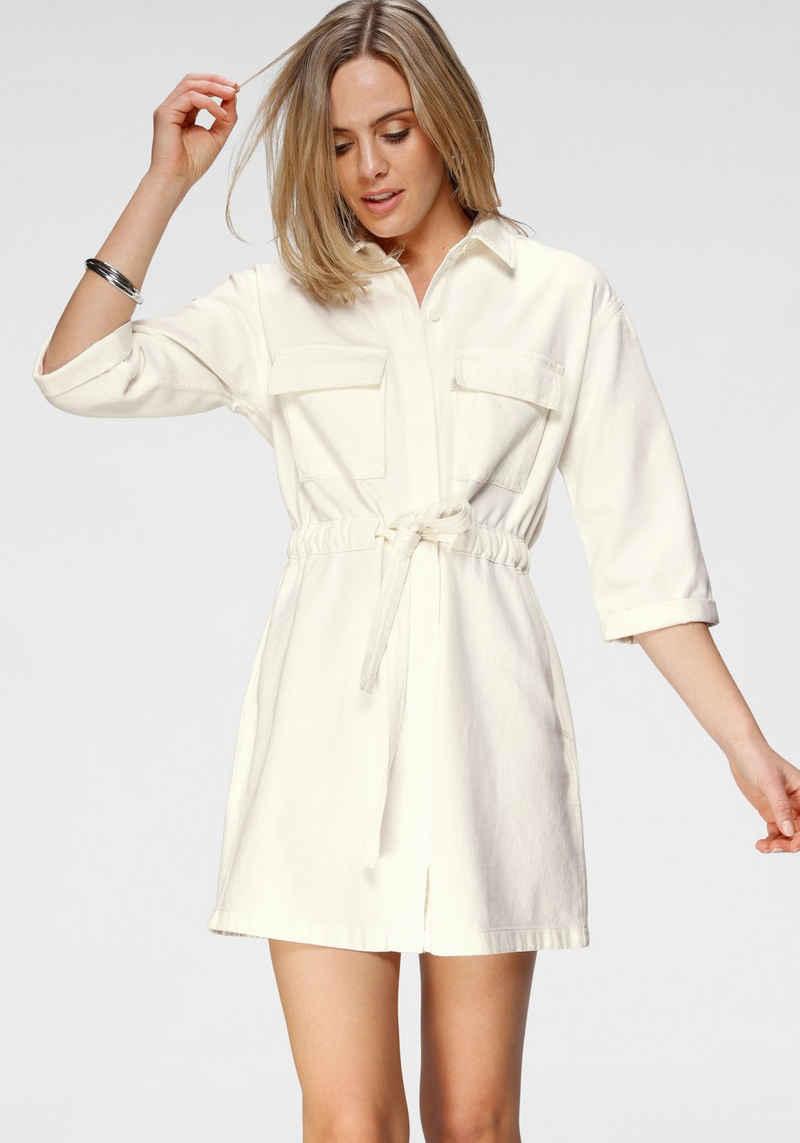 Levi's® Jeanskleid »Ainsley Utility Denim« mit Bindegurt zum taillieren