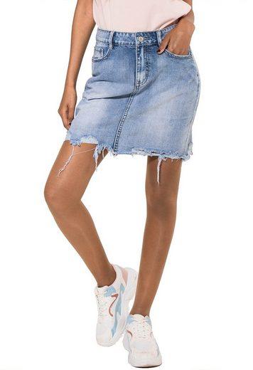 Simply Chic Sommerrock »2354« Damen Jeans Rock LIMA