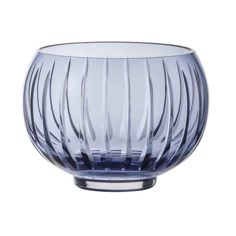 Zwiesel Glas Windlicht »Signum Midnight Blue«, handgefertigt