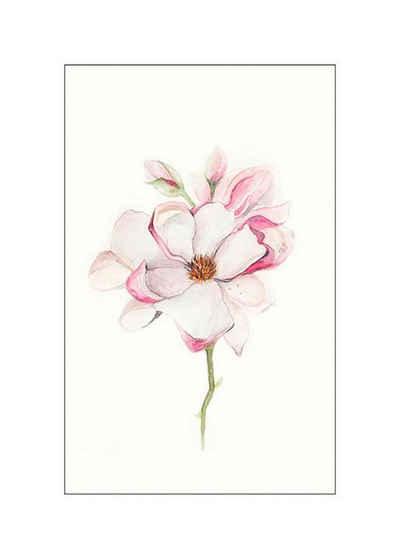 Komar Poster »Magnolia Blossom«, Blumen, Höhe: 40cm