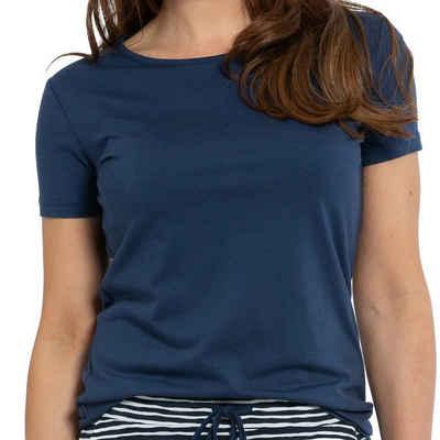 Mey Pyjamaoberteil »Night2Day Liah Shirt kurzarm« Weich und elastisch, Perfekt zum Schlafen und Relaxen, Einfach mit der passenden Hose kombinieren