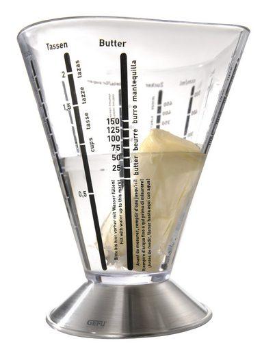 GEFU Messbecher »Messbecher SATURAS«, Edelstahl, Kunststoff, Mixbecher