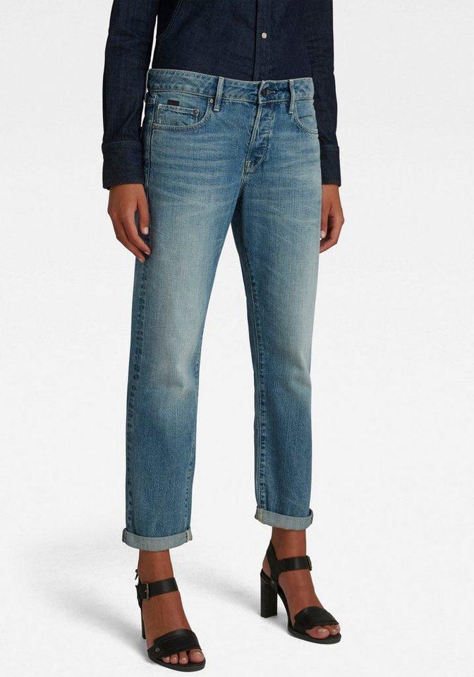 g-star raw -  Boyfriend-Jeans »Kate Boyfriend Jeans C« mit authentischer Waschung mit Usedeffekten