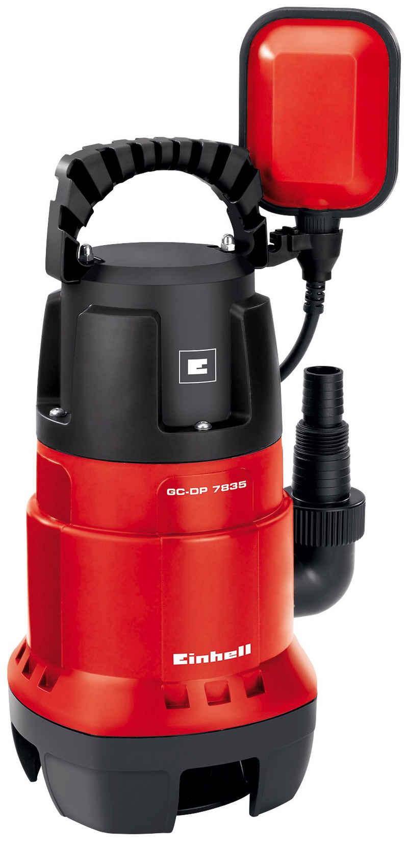 Einhell Schmutzwasserpumpe »GC-DP 7835«, 15.700 l/h