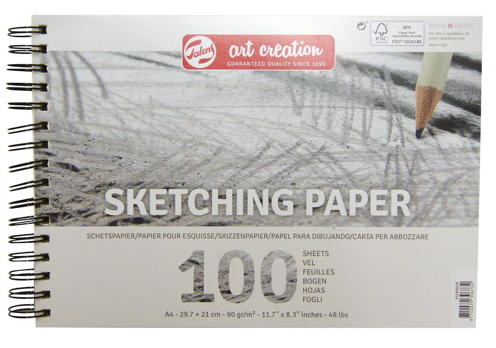 40/Blatt Art Street Transparentpapier Pad